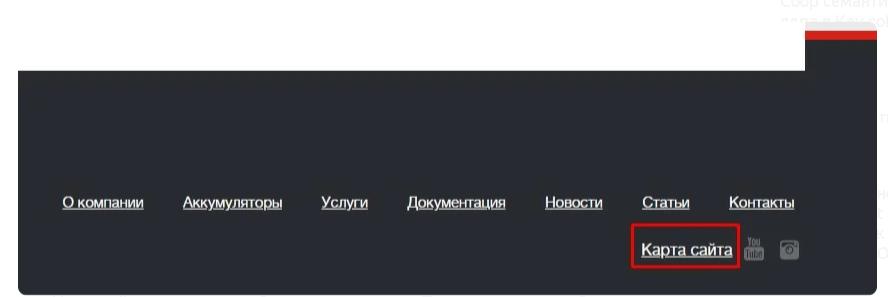 Как создать карту сайта sitemap.xml